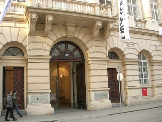 This building on Herrengasse, or Herren Lane, used to be the seat of the Police Ministry and some other government offices in the period of MOZART'S LAST ARIA. Outside this gate, the novel's climactic scene takes place… But let's not give too much away.