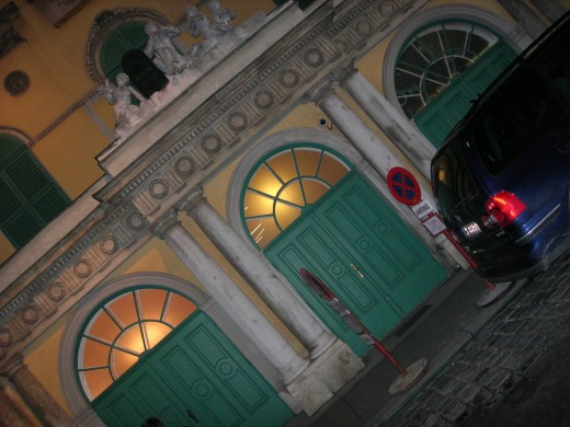 """The original building in which Mozart wrote and premiered """"The Magic Flute"""" no longer exists. But this building, which is still called the Theater an der Wien and continues to operate as a theater, stands in its place, a short walk from the center of Vienna."""