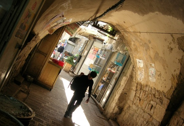 The first time I visited Nablus in 1996, I quickly completed my reporting for the news article that brought me there and took time to wander the casbah. Most of The Samaritan's Secret takes place in these mysterious, vaulted pathways.
