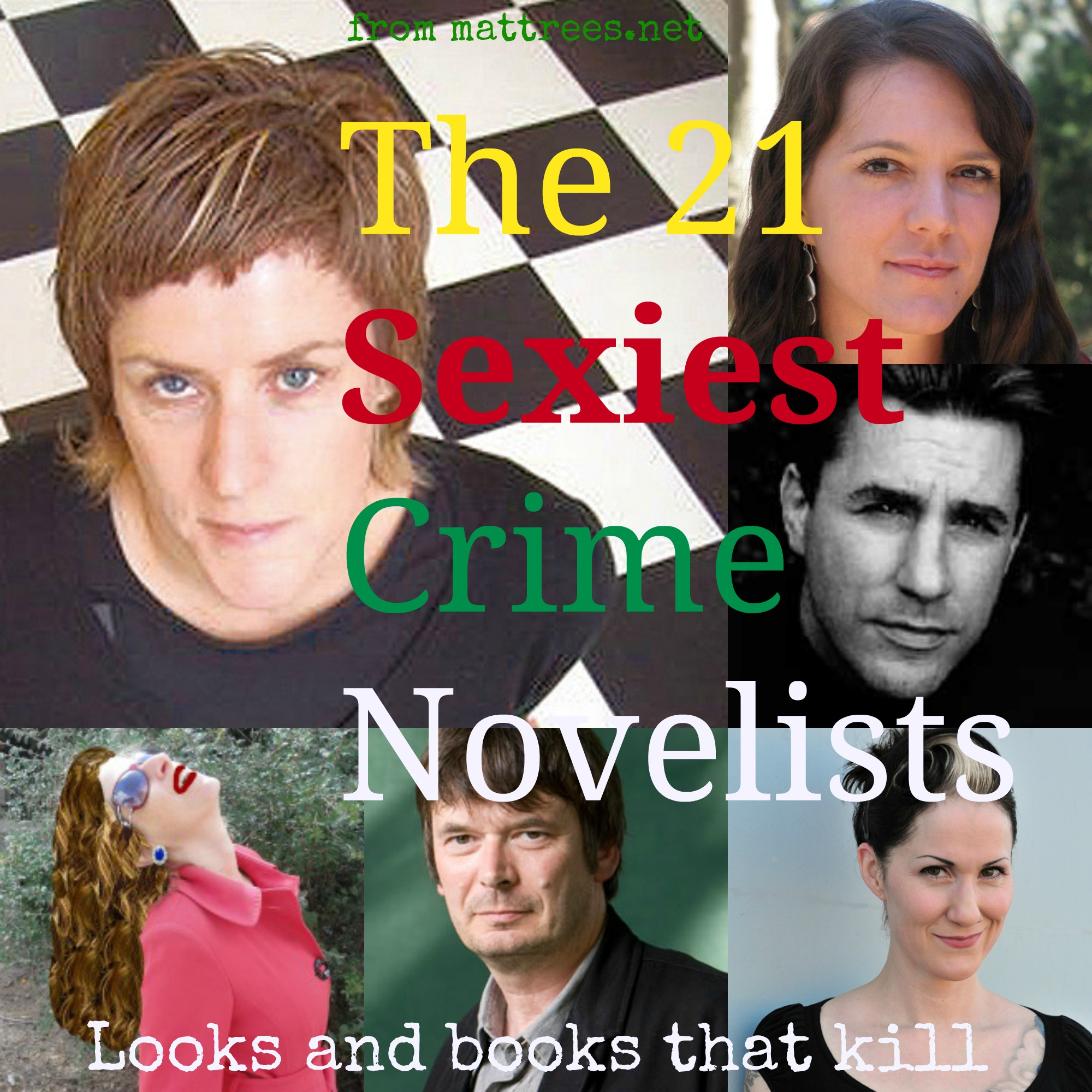 The 21 Sexiest Crime Novelists