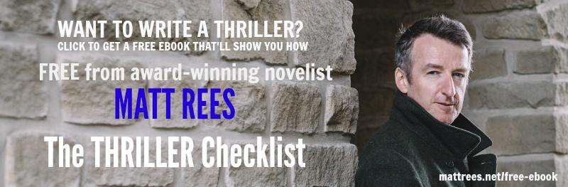 The Thriller Checklist from Matt Rees